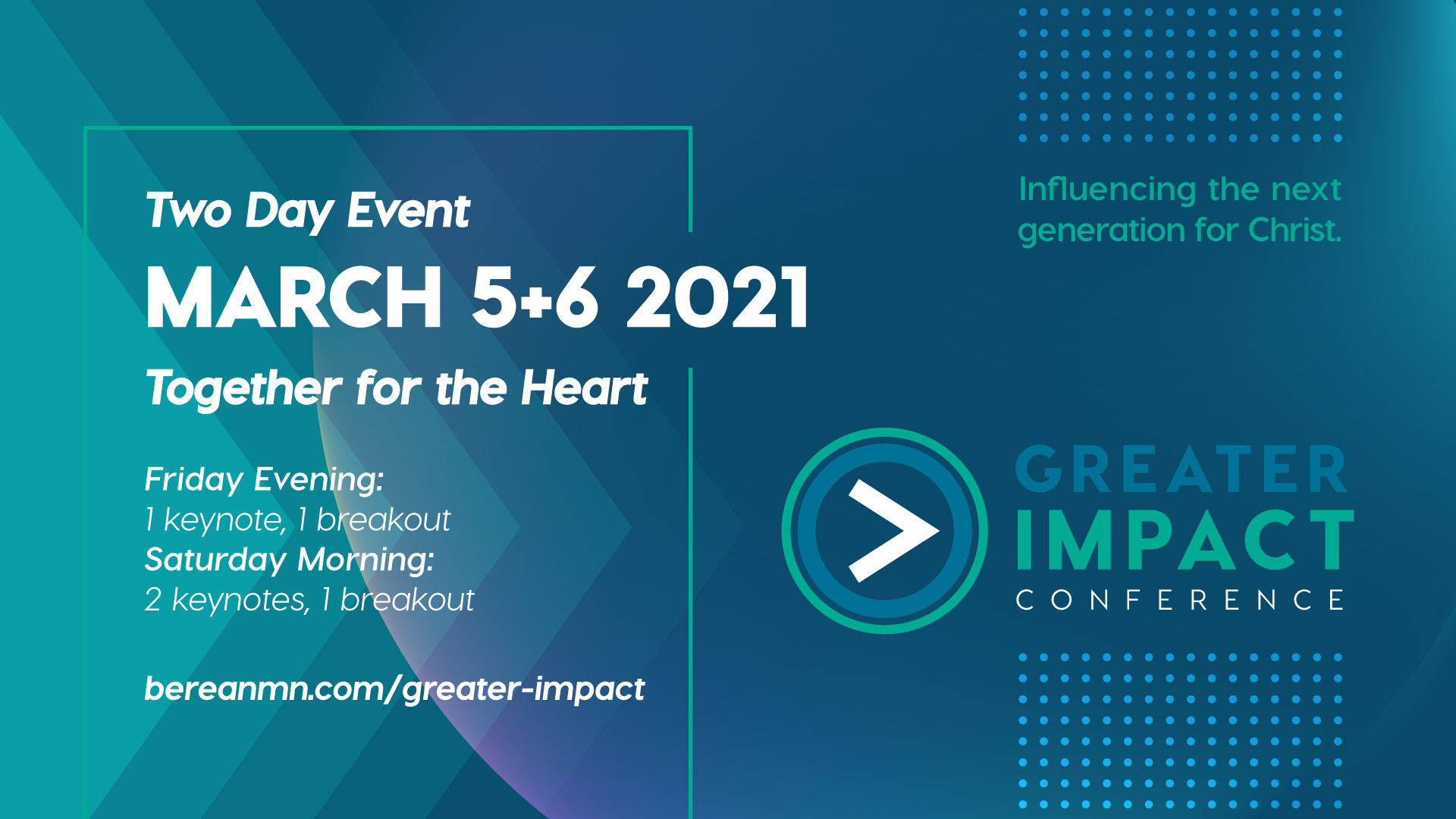 greater impact conference